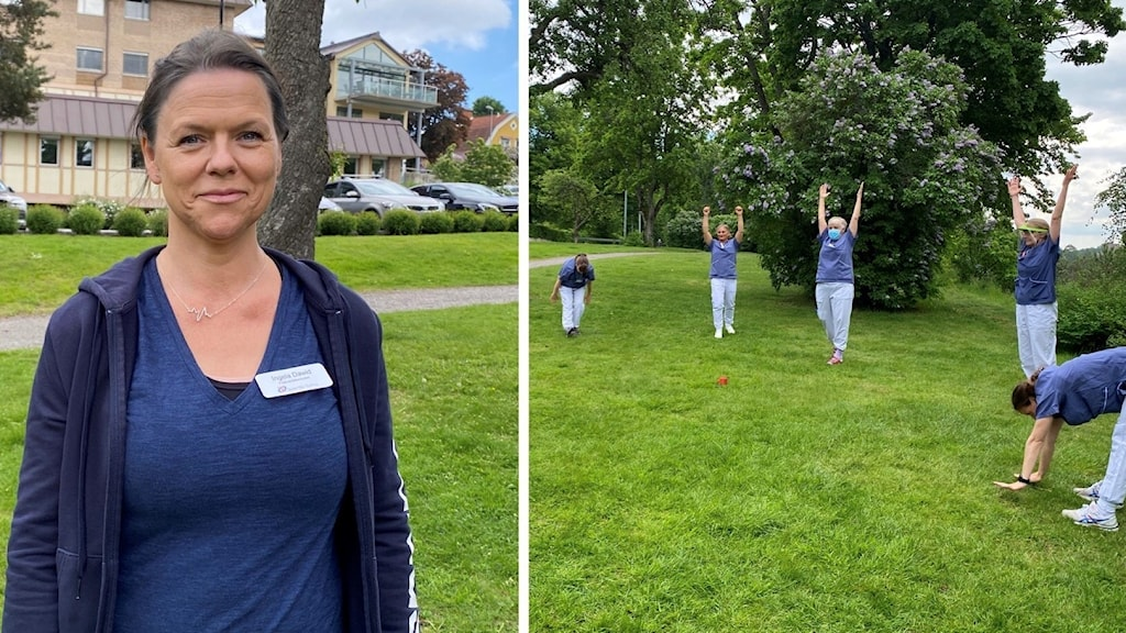 Ingela Dawid har infört träning som arbetsuppgift på Södertälje sjukhus.