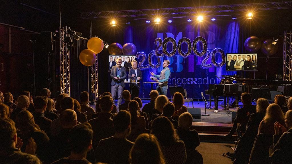 20 år sedan 2000 Sveriges Radio-klubben Mattias Ahlm/Sveriges Radio