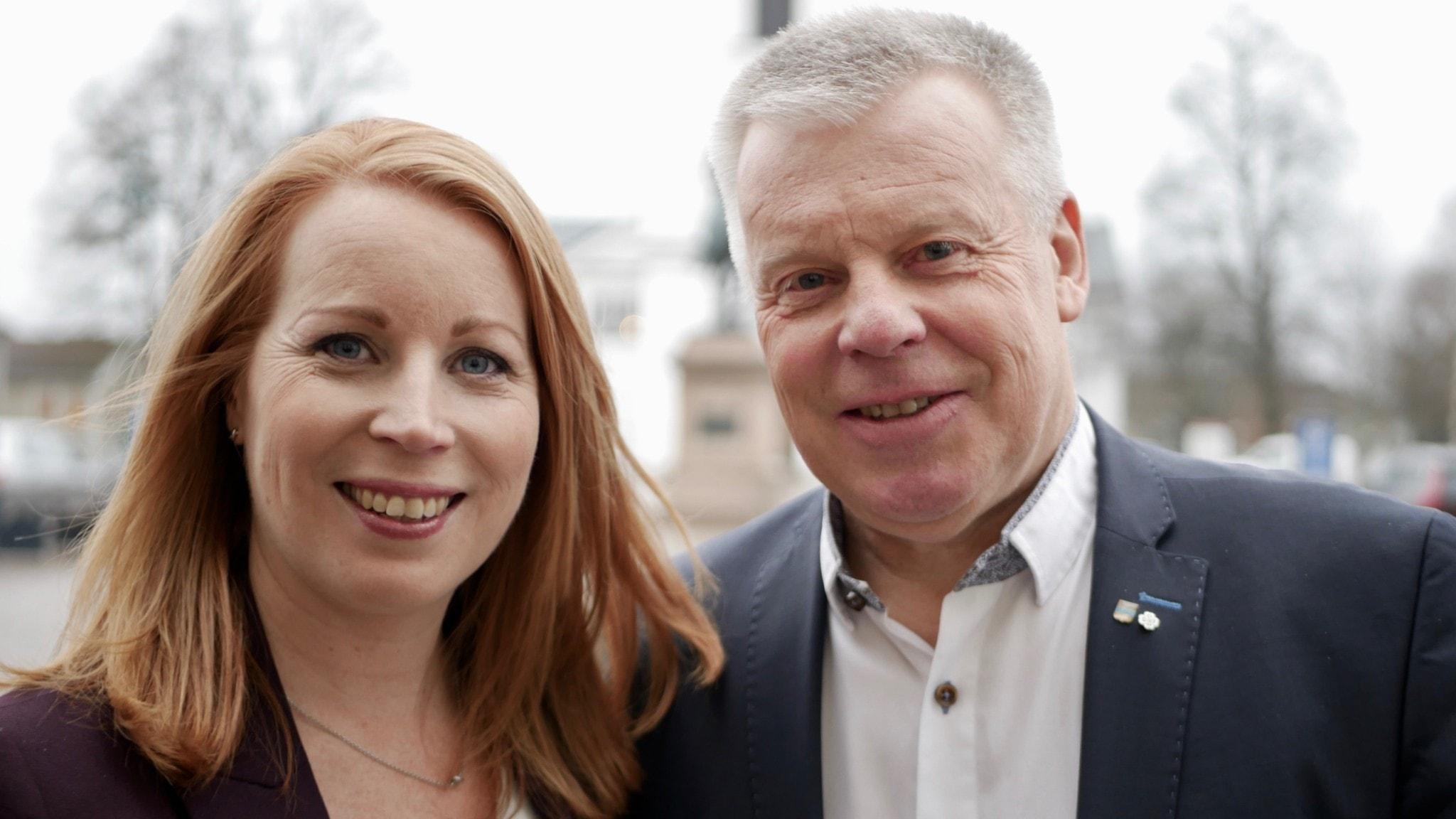 Annie Lööf ringer pappa Hans-Göran när ingen annan fattar