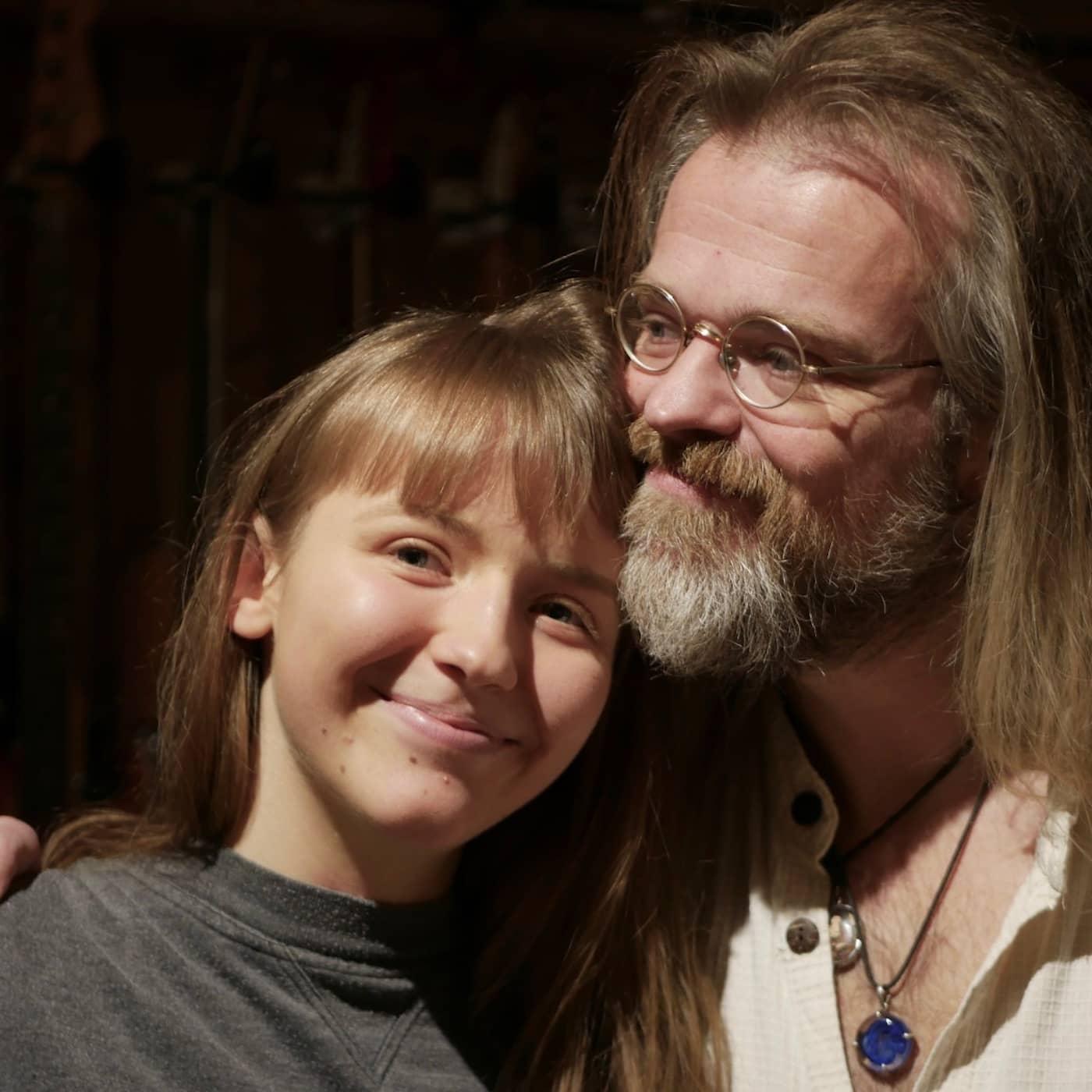 Christoffer ville inte få en son - nu gör han musik med dottern Ingrid