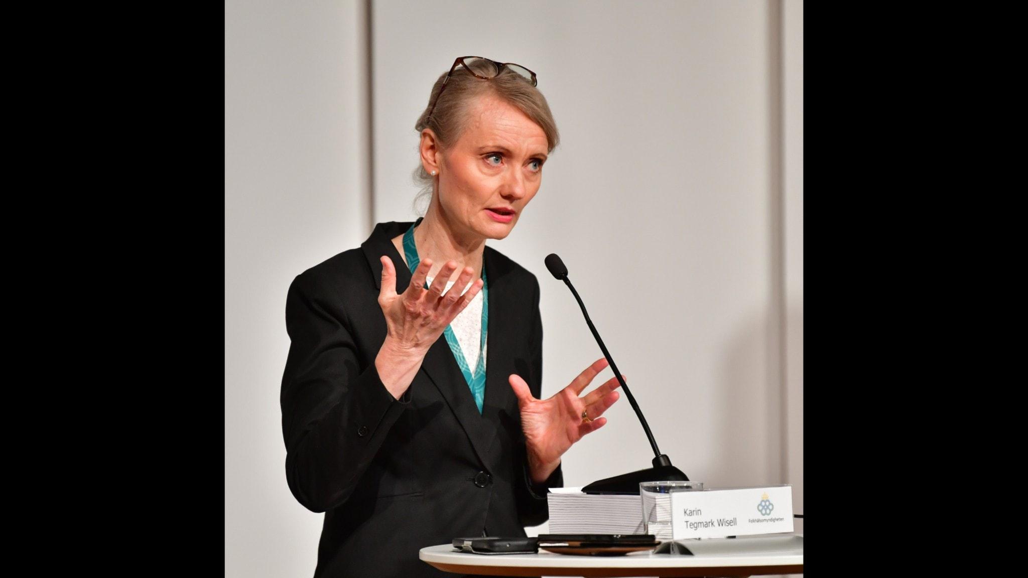 Karin Tegmark Wisell FOlkhälsomyndigheten