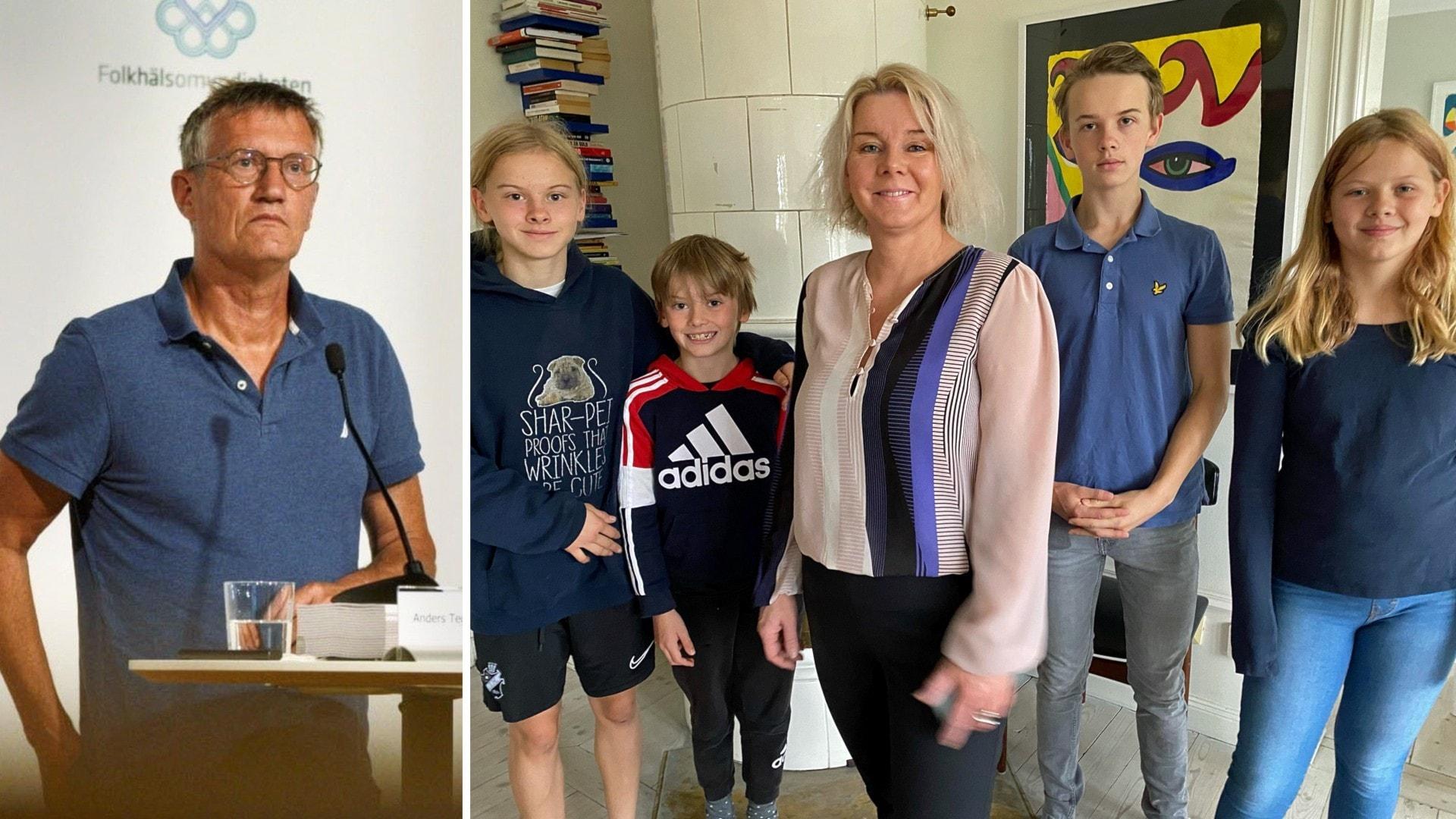 Covidvaccin för tonåringar – Anders Tegnell svarar tonårsförälder om effekter och biverkningar