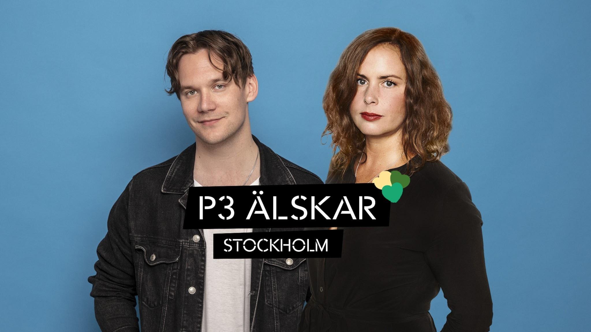 Hanna Hellquist och Christopher Garplind. P3 Älskar Stockholm 2021 22 september