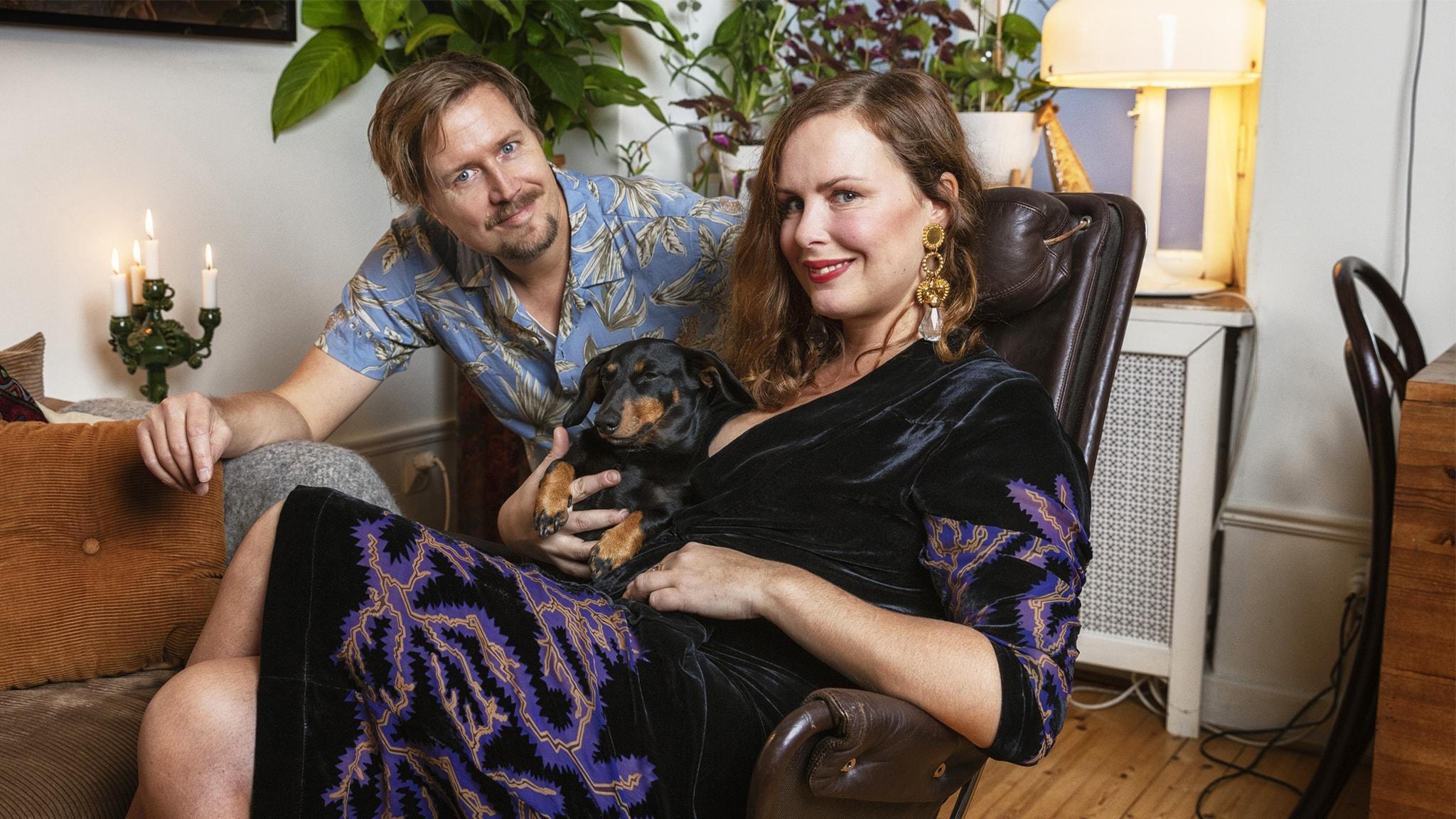 Hanna Hellquist, taxen Ines och Jörgen Lötgård i P3
