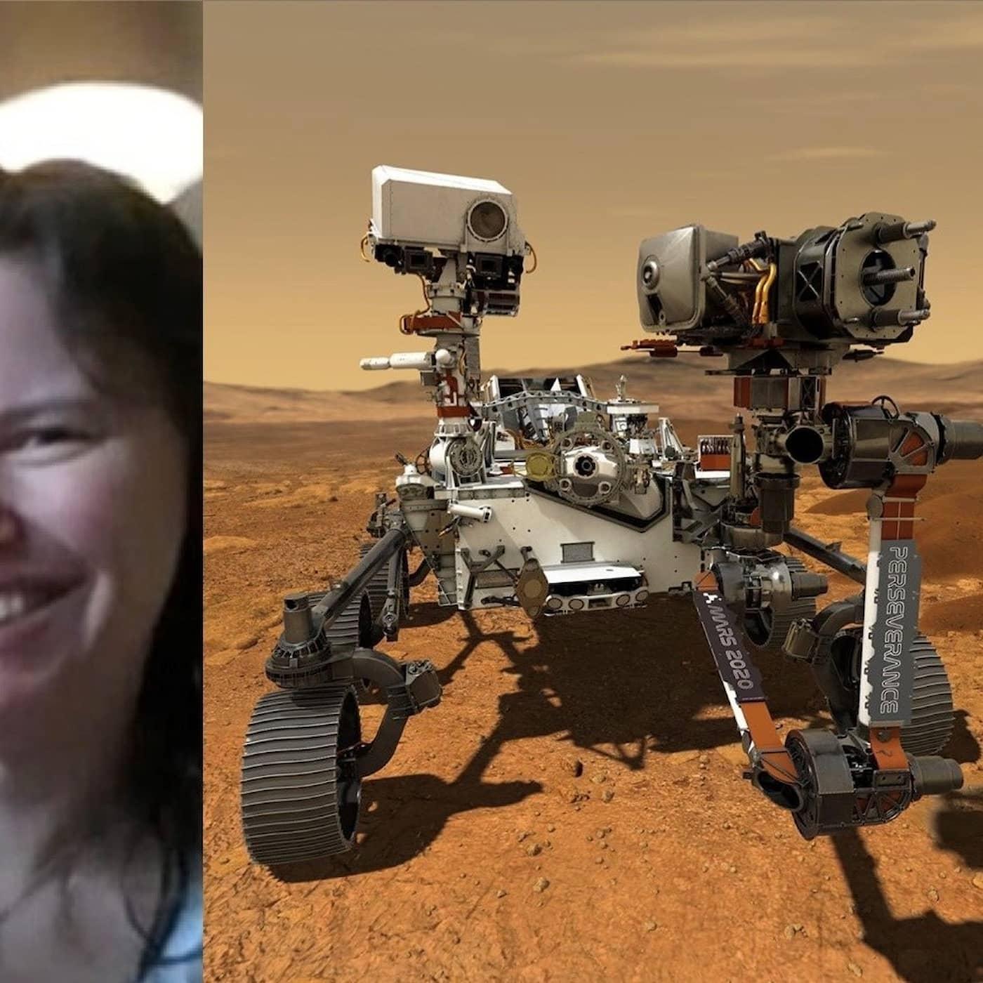 Hon hjälper NASA ta rätt prover på Mars