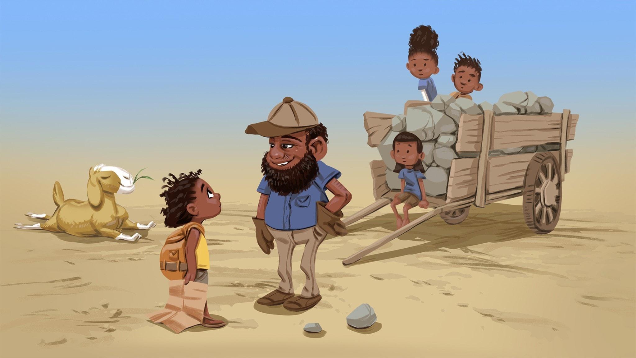 Del 10 av 20: Öknen utan sand