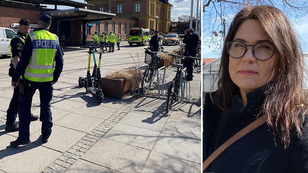 Katarina Strömfelt, verksamhetschef kvinnojouren Ellinor i Linköping.