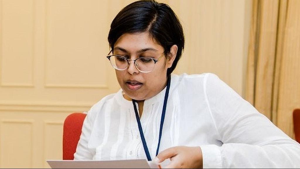 Safura Abdool Karim är hälsojurist i Sydafrikas hälsoråd.