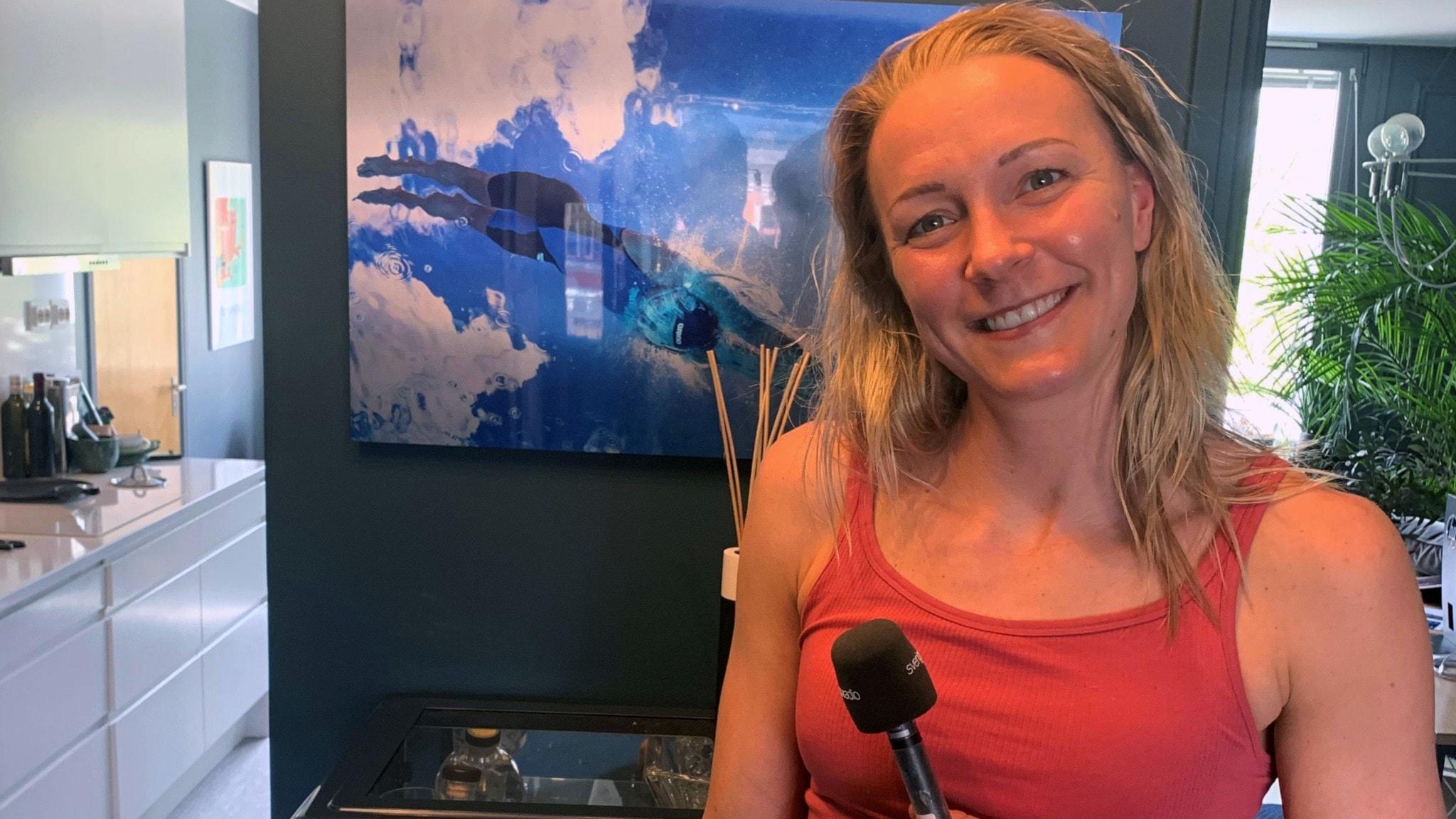 Sarah Sjöström pluggar till PT: Det är årets stora mål