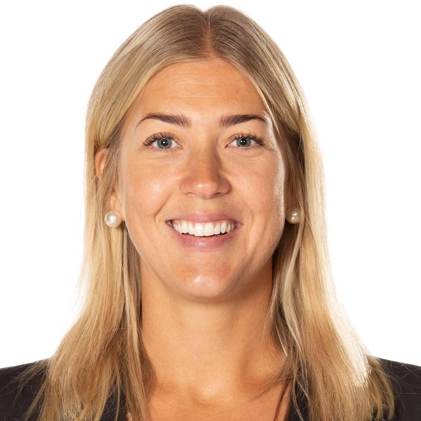 Erika Grahm är Sveriges första kvinnliga sportchef i SHL