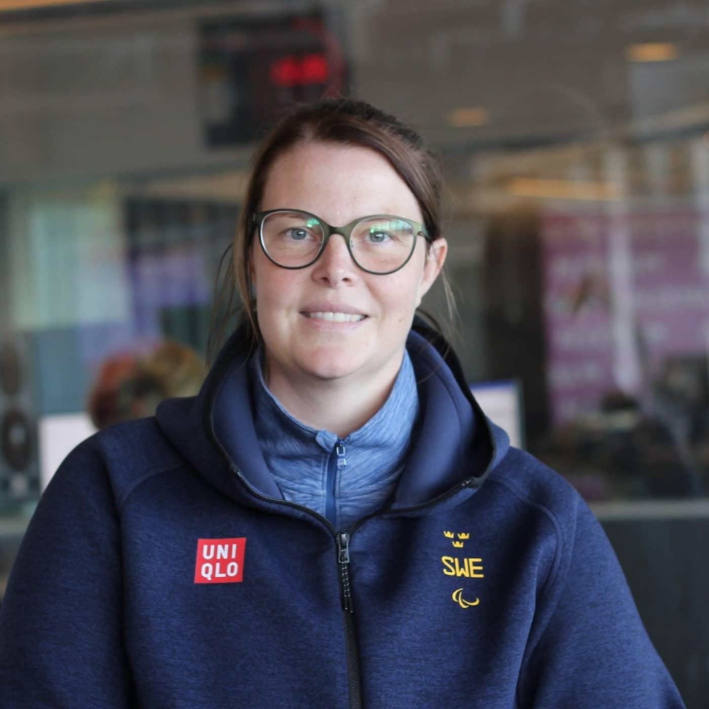 Skytten Anna Normann: Jag blir sketanervös när jag skjuter