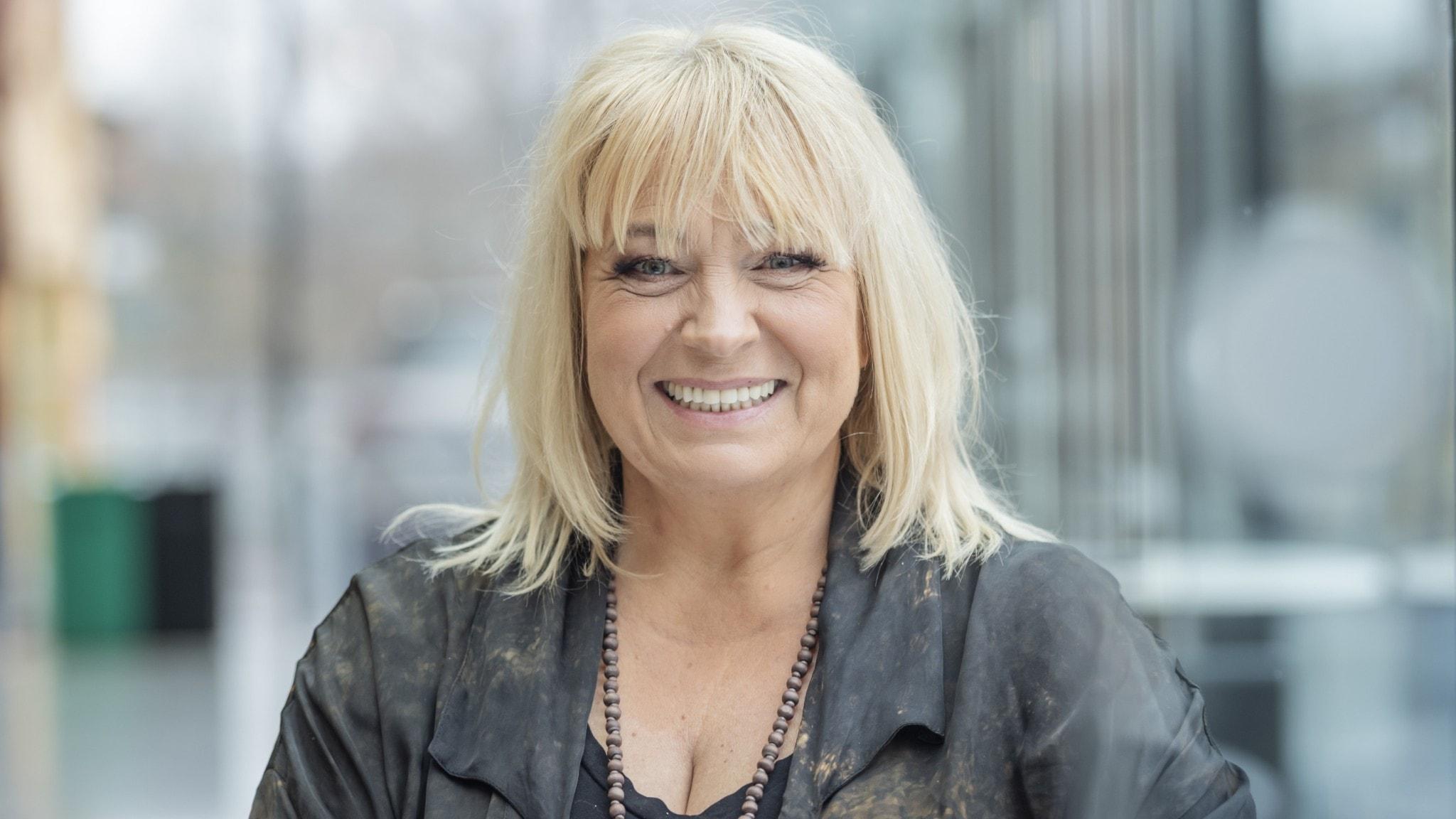 Skådespelaren Sussie Eriksson