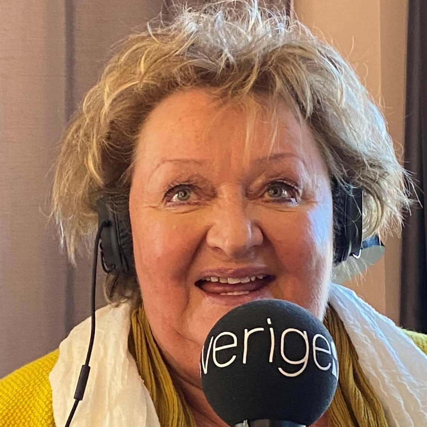Marianne Mörck om när hon var naken tillsammans med Peter Jöback