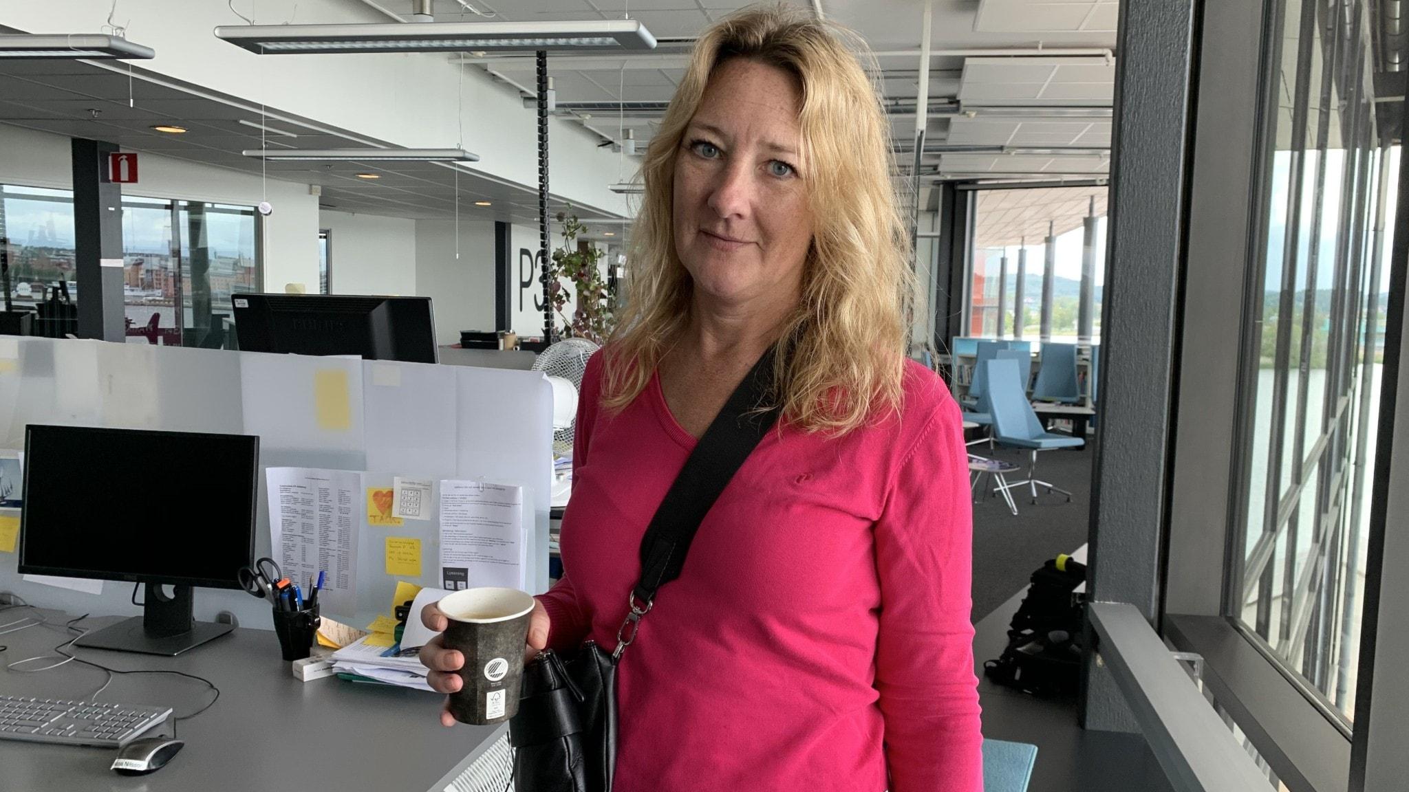 Journalisten och författaren Johanna Bäckström Lerneby