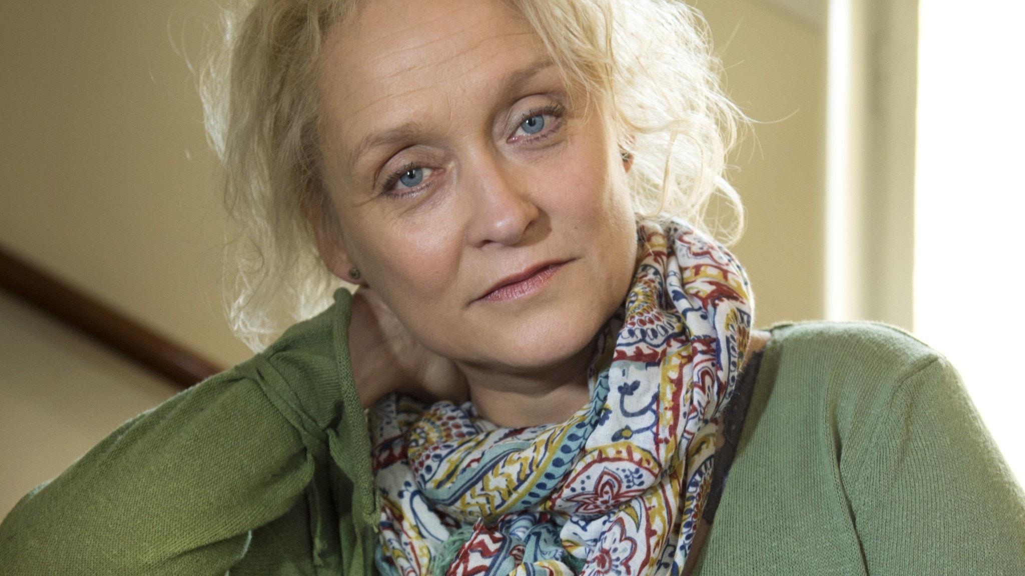 Karin Alvtegen lyckligare än förut – trots svåra sjukdomen