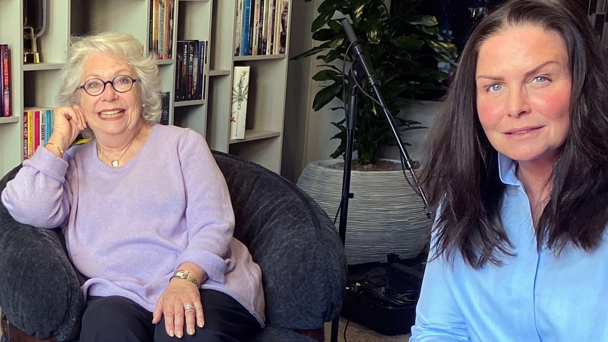 Prinsessan Christina fru Magnuson lär känna sin farmor – i ny bok