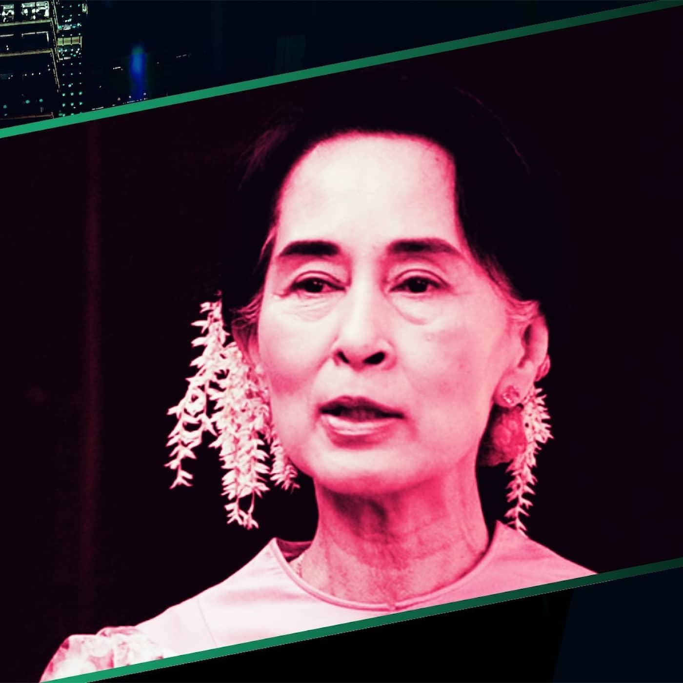 Aung San Suu Kyi – Frihetskämpen med glorian på sned