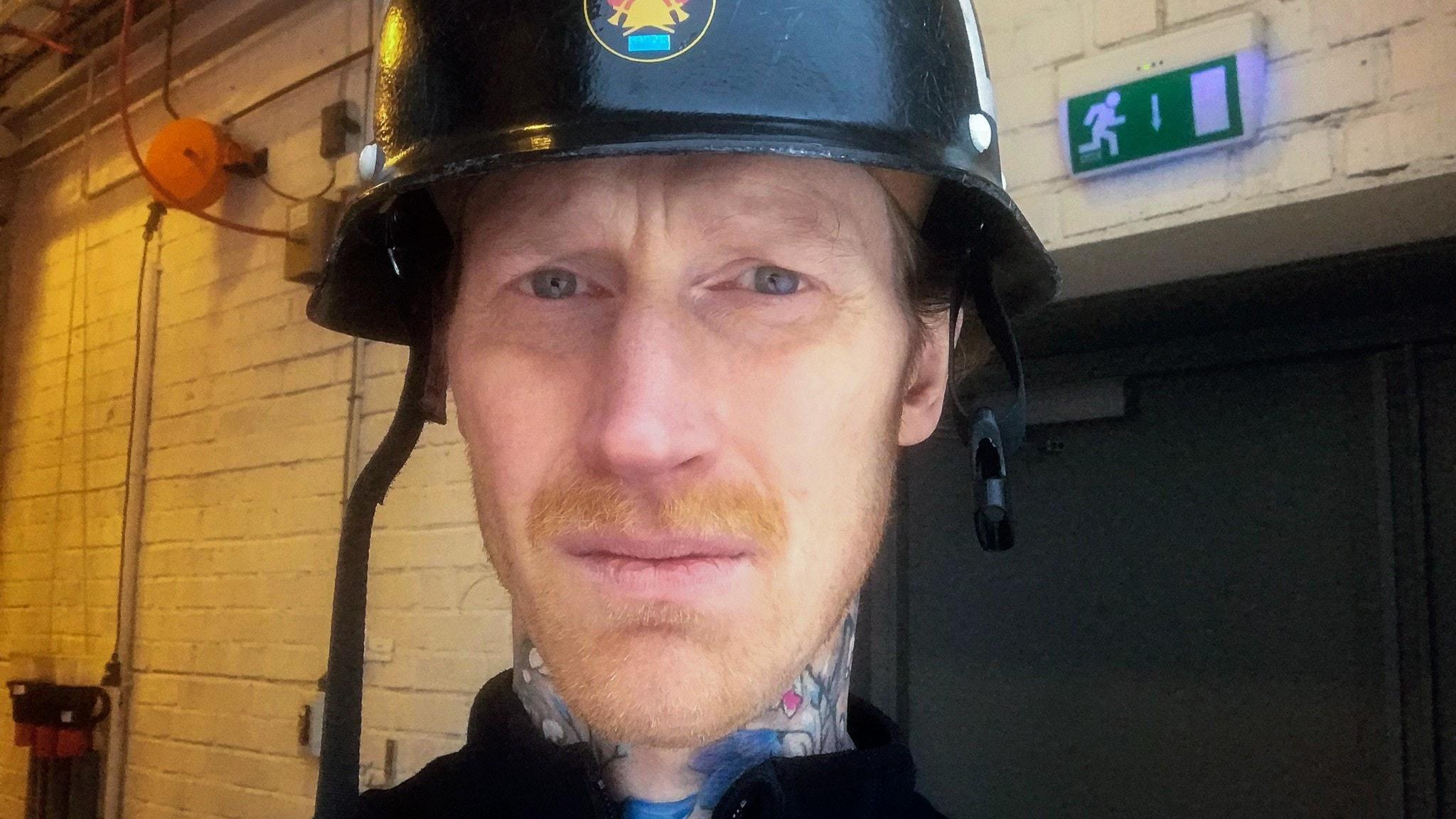 Del 2. Vanligt folk: Som en fluga på väggen. Daniel Resare – brandman P1 Sveriges Radio