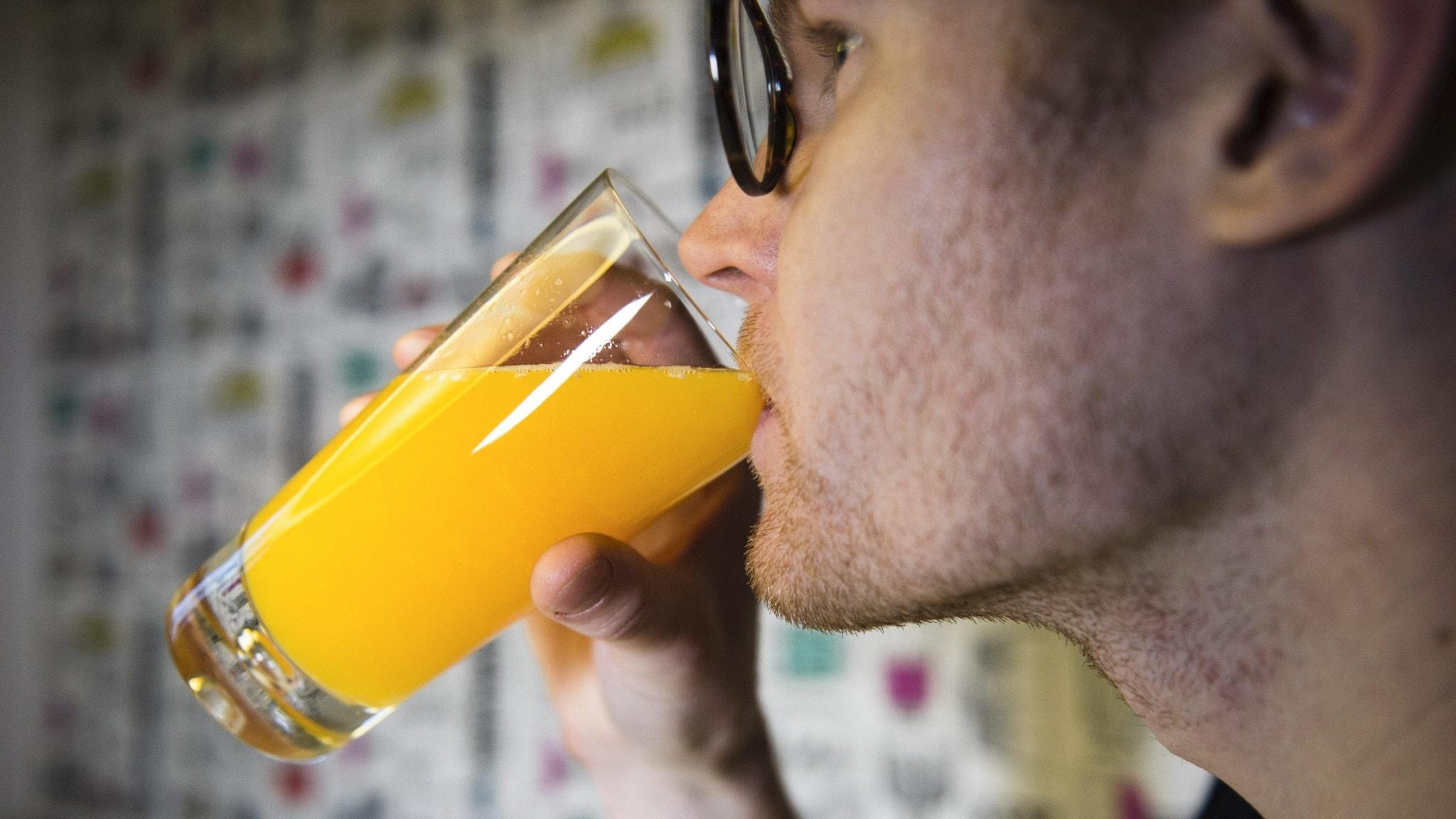 Ultraljud + juice = jättegott?