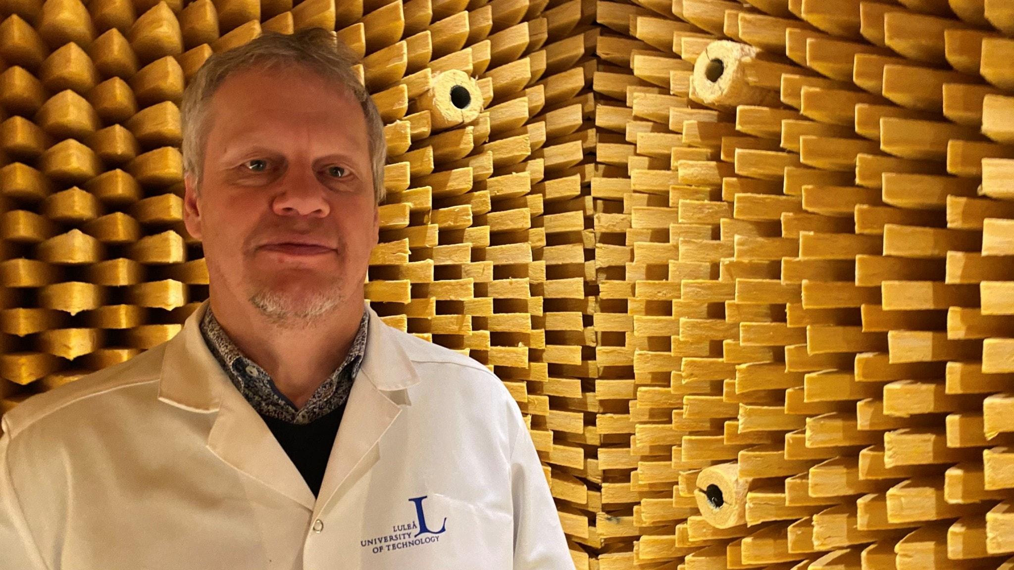 Örjan Johansson, professor i teknisk akustik LTU