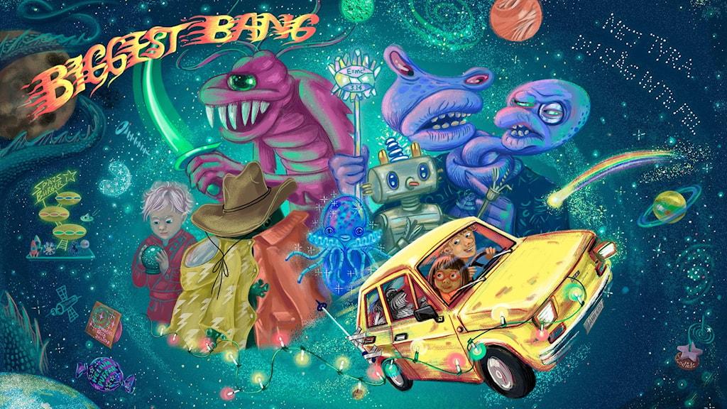 Julkalendern Biggest Bang. Bild: Anna Sandler