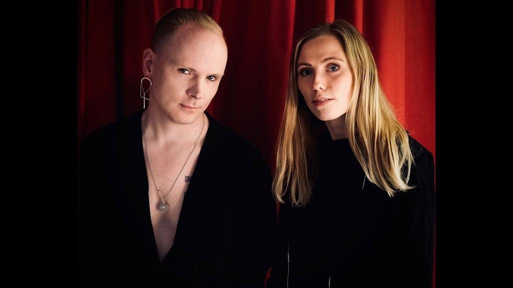 Kristofer Andersson och Nanna Olasdotter Hallberg