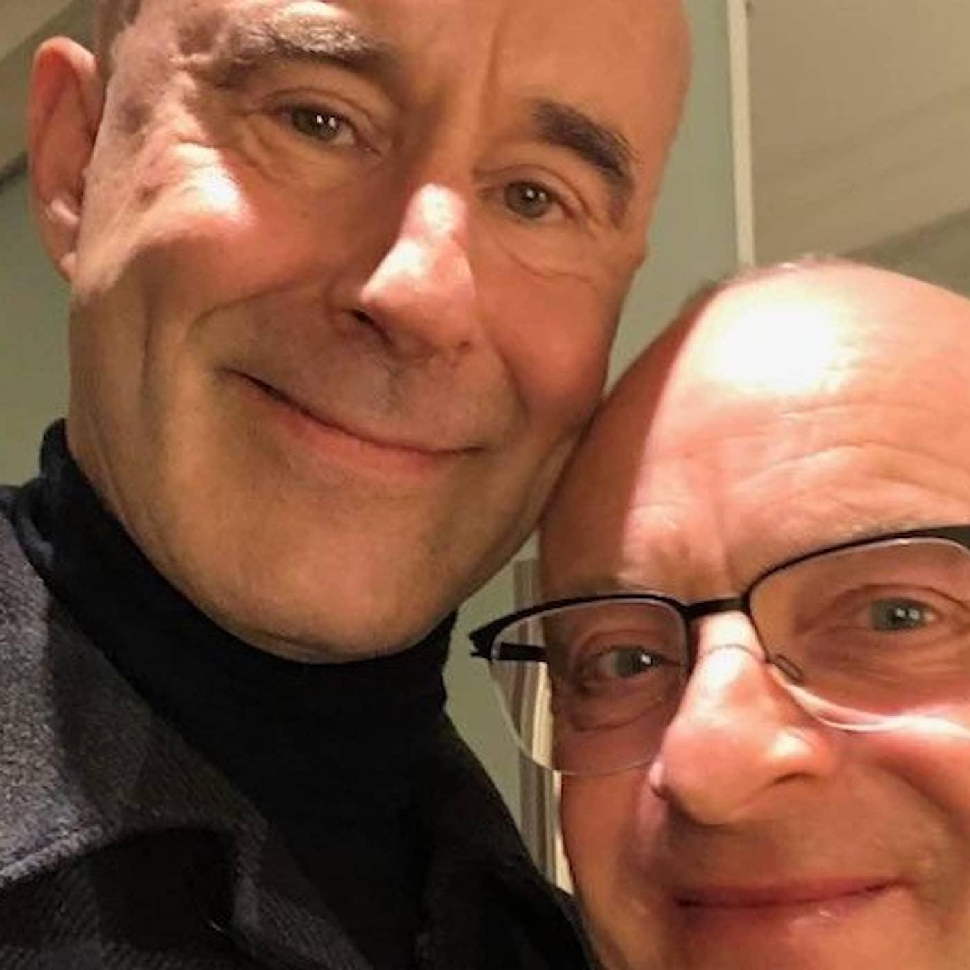Mark och Jonas: Man blir aldrig riktigt härdad