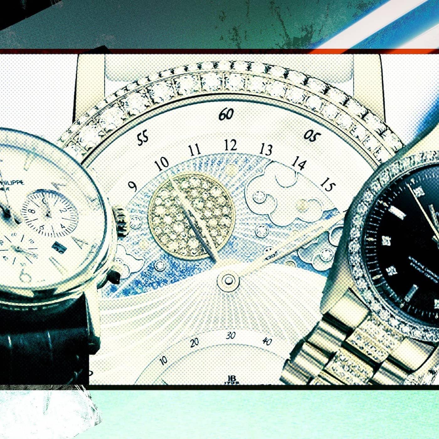 Så används klockor i den kriminella världen