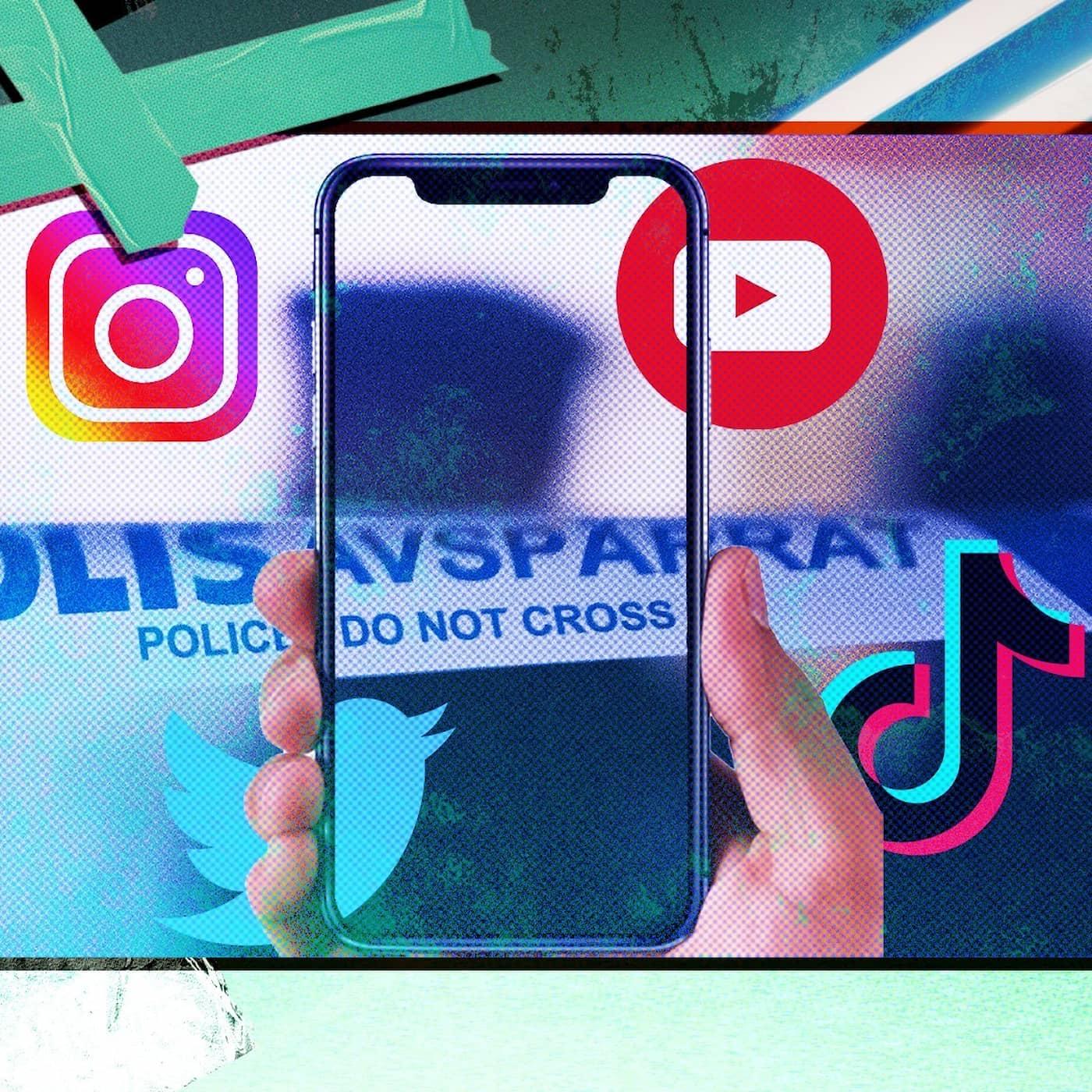 Polisen i sociala medier och deras hemliga konton