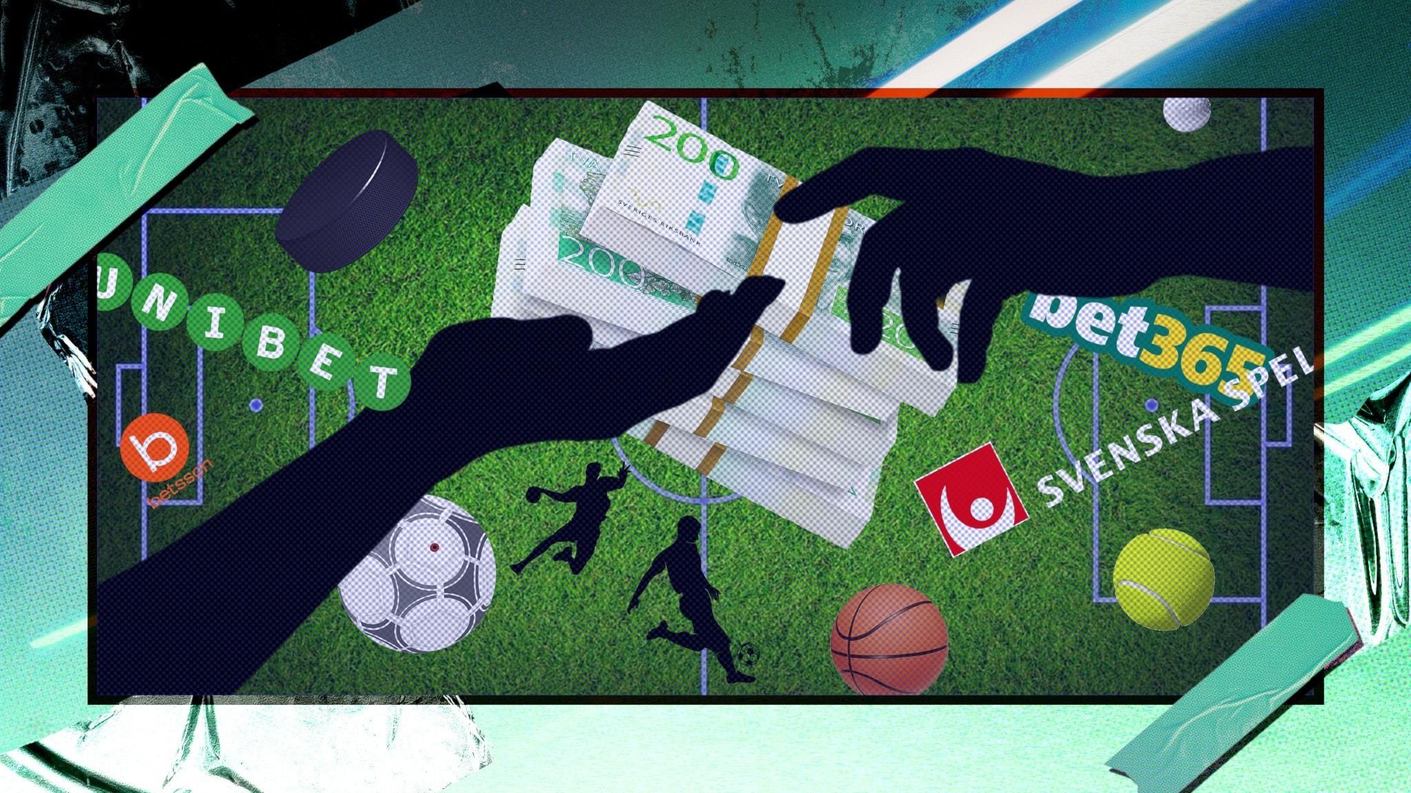 Kollage av sporter och mutbrott