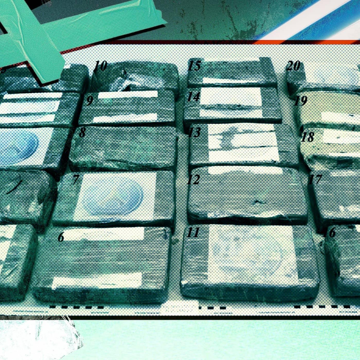 Kokainet som flöt upp på en strand i Höganäs