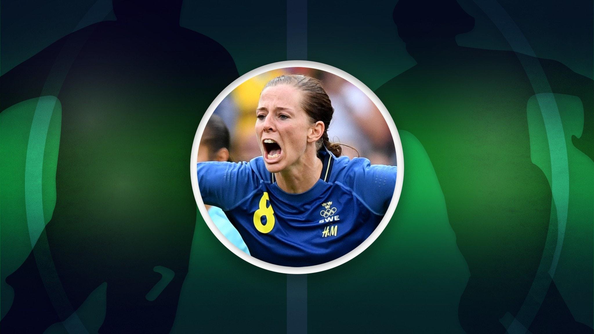 Lotta Schelin om när landslagets stjärnor rasade genom ett bord
