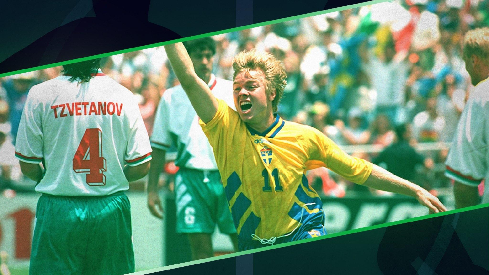 Tomas Brolin under bronsmatchen 1994