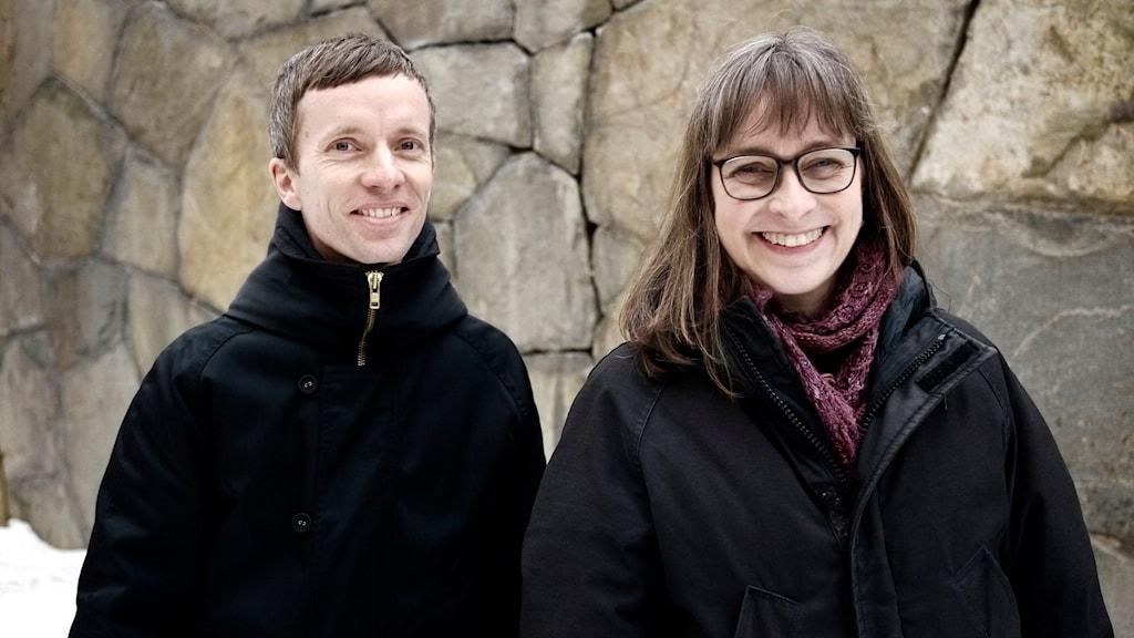 Erik Laquist och Nina Wormbs.