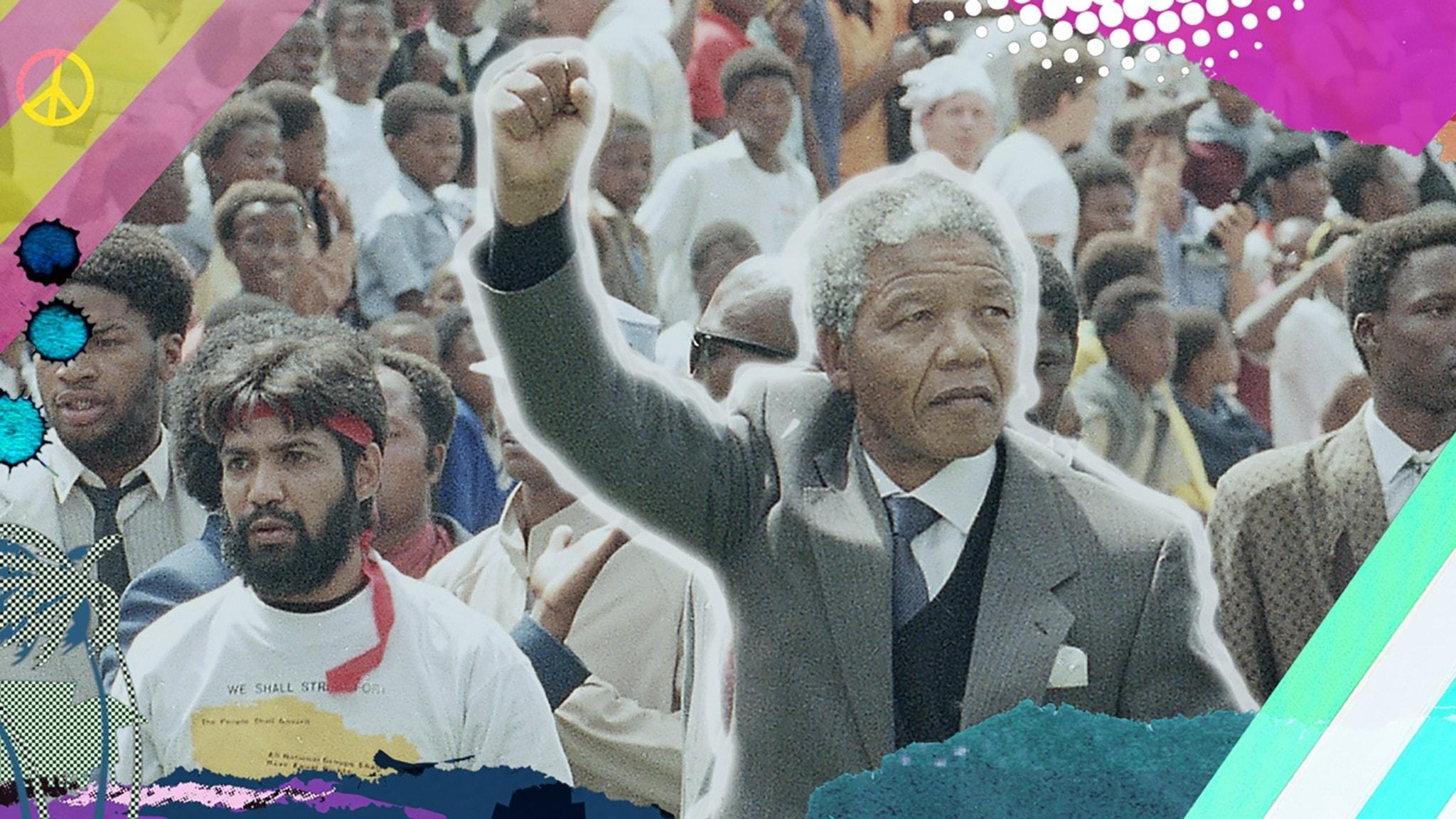 Stora händelser om frigivningen av Nelson Mandela