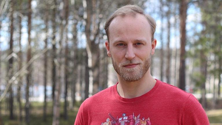 Adam Timander. Foto: Helena Andersson/Sveriges Radio