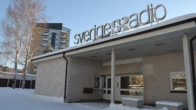 Radiohuset Umeå. Foto: Adam Timander/Sveriges Radio