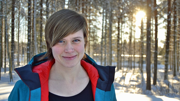 Magdalena Martinsson. Foto: Adam Timander/Sveriges Radio.