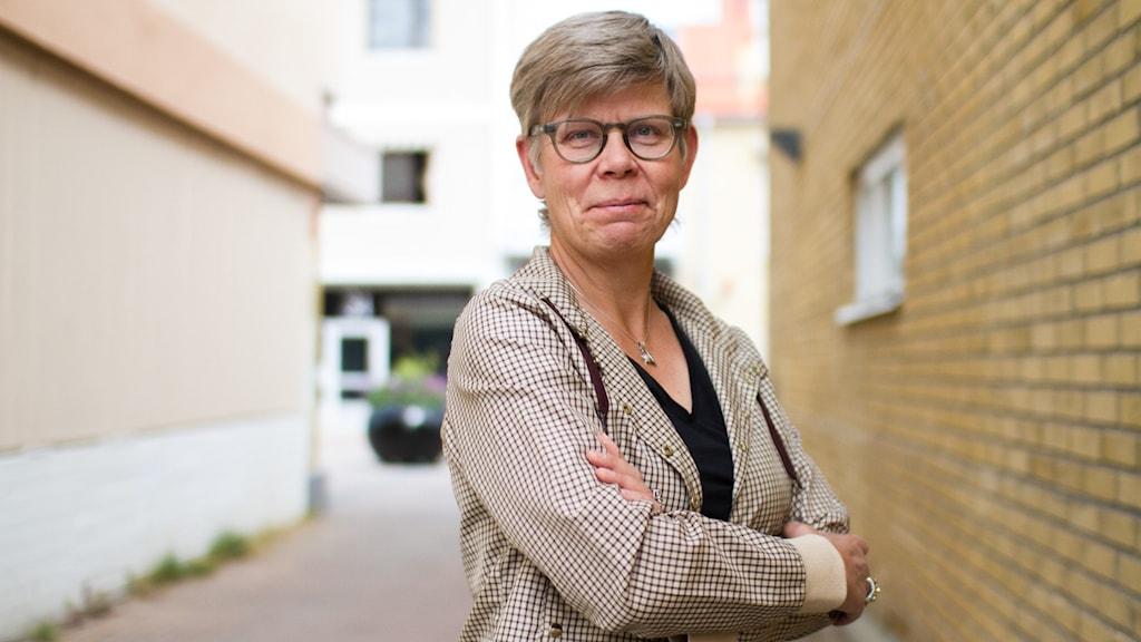 Pia Sjögren foto Markus Åkebo/Sveriges Radio