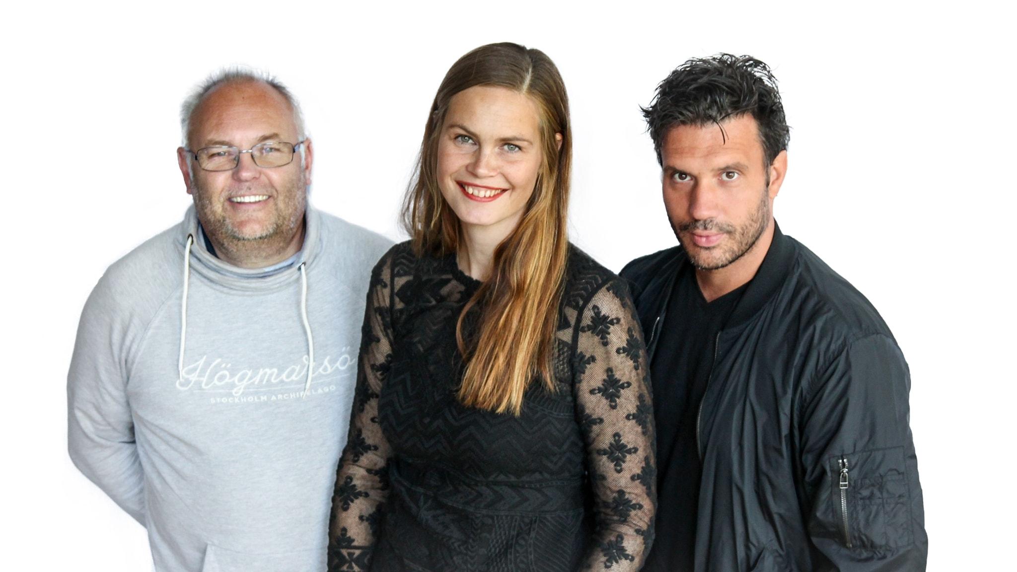 Med Dejan Cokorilo och Jenny Goldkuhl