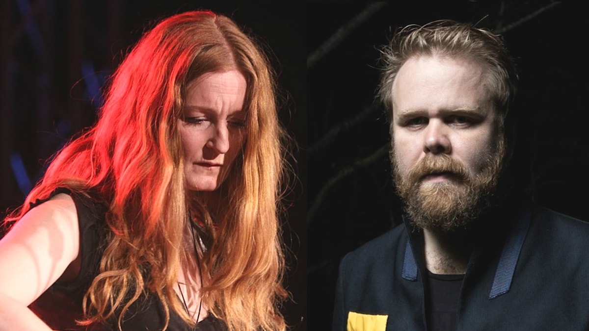 Anna Stadling och Loney Dear.