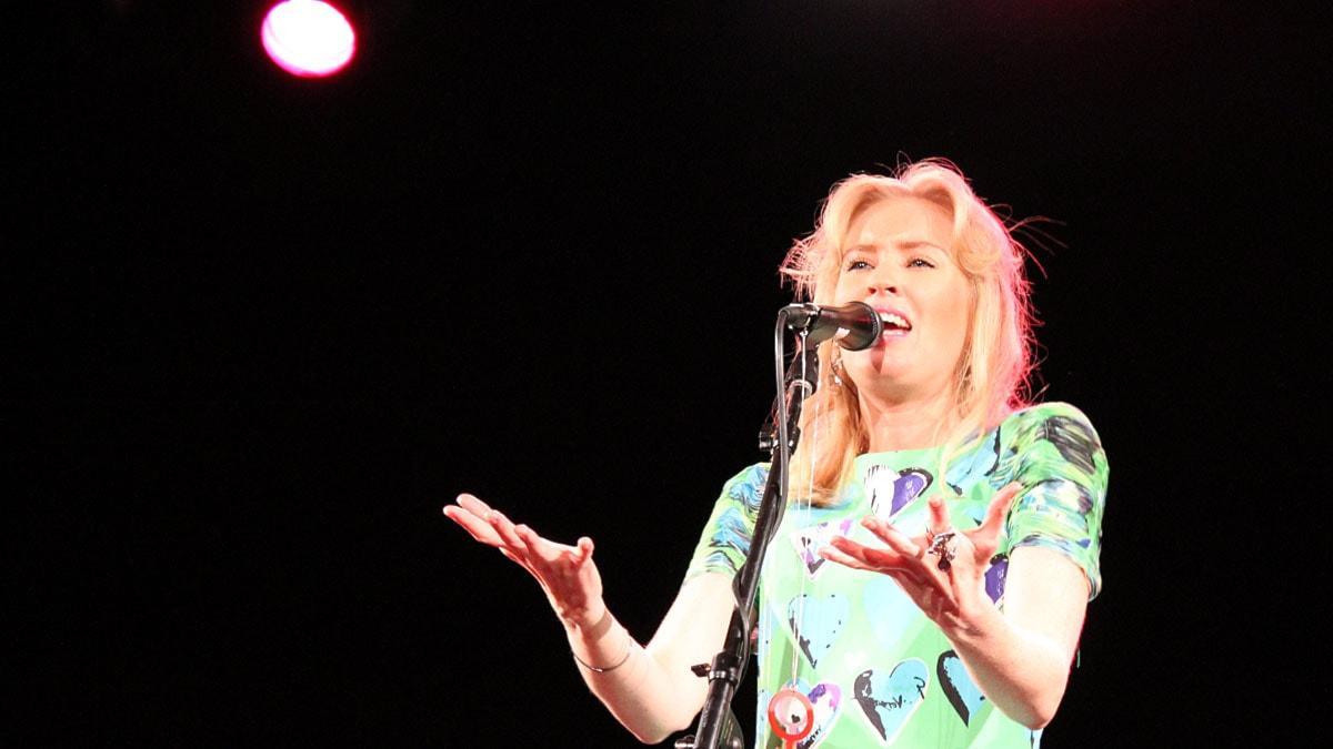 Linda Sundblad. Foto: Marie Nilsson/Sveriges Radio.