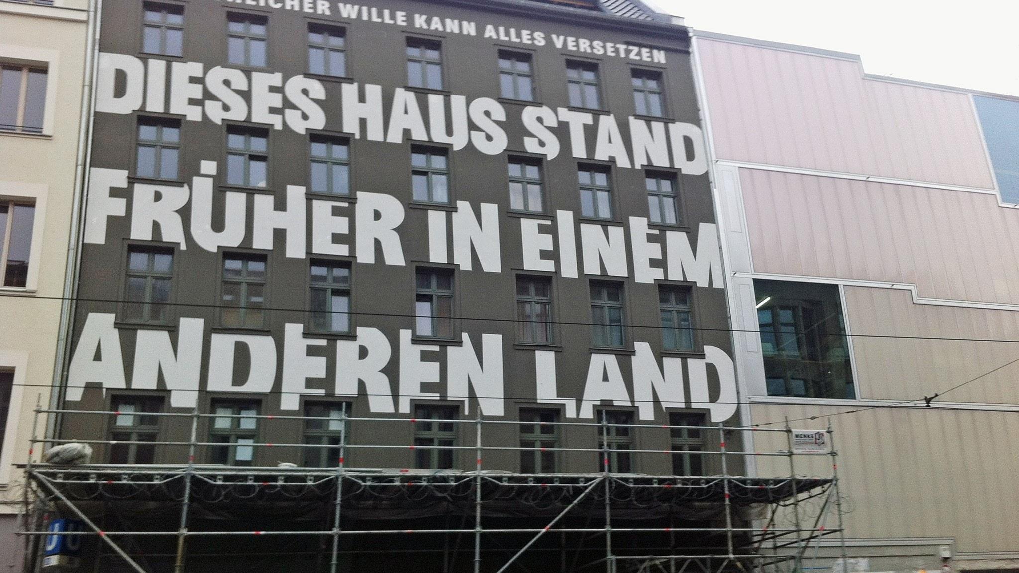 Året var 1989 – Väninnan från Öst-Berlin