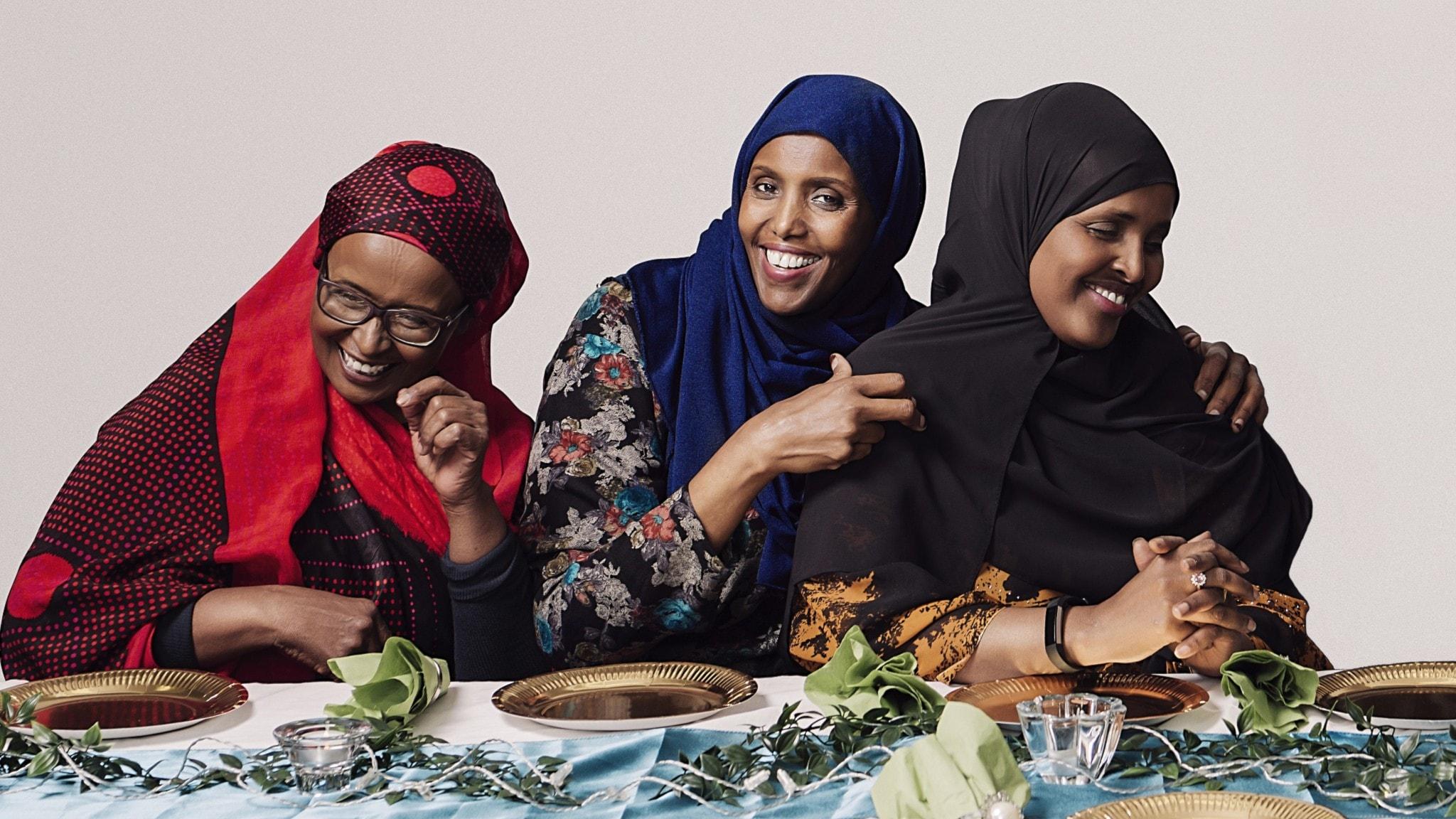 """""""Dumar"""" på Östgötateatern med Fadume Jama, Kin Gurhan Mohamed och Ayaan Mohammud blir film istället för teateruppsättning."""