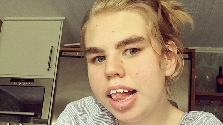 Vilma Berggren sommaren 2014