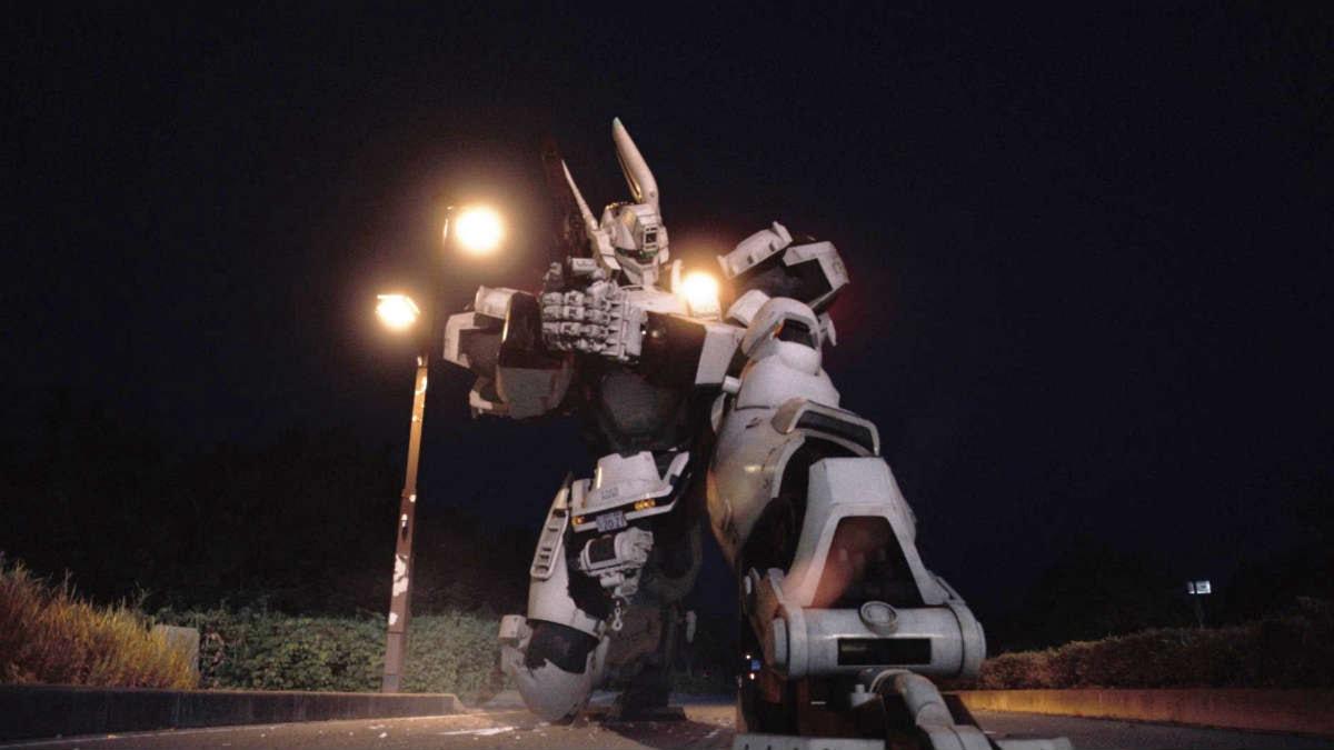 En scen från den senaste delen av Next Generation: Patlabor. En av många robotar som Sveriges Radios kulturkorrespondent Roger Wilson stötte på under sitt besök på Tokyos Filmfestival. Bild: Image.net