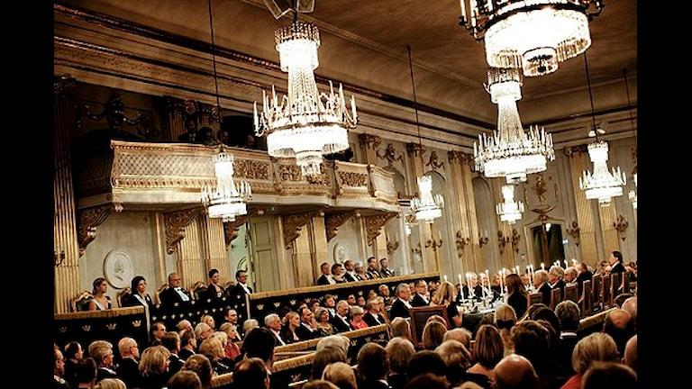 Svenska Akademien juhlatilaisuus.