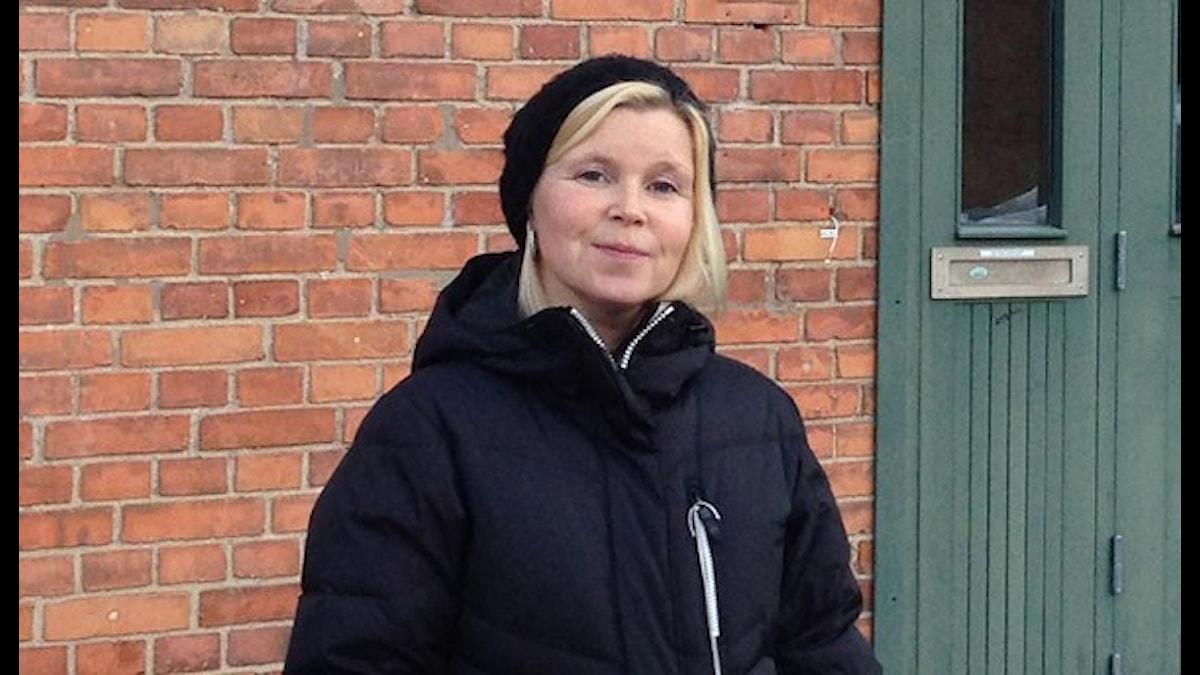 Författaren Ingelin Angerborn