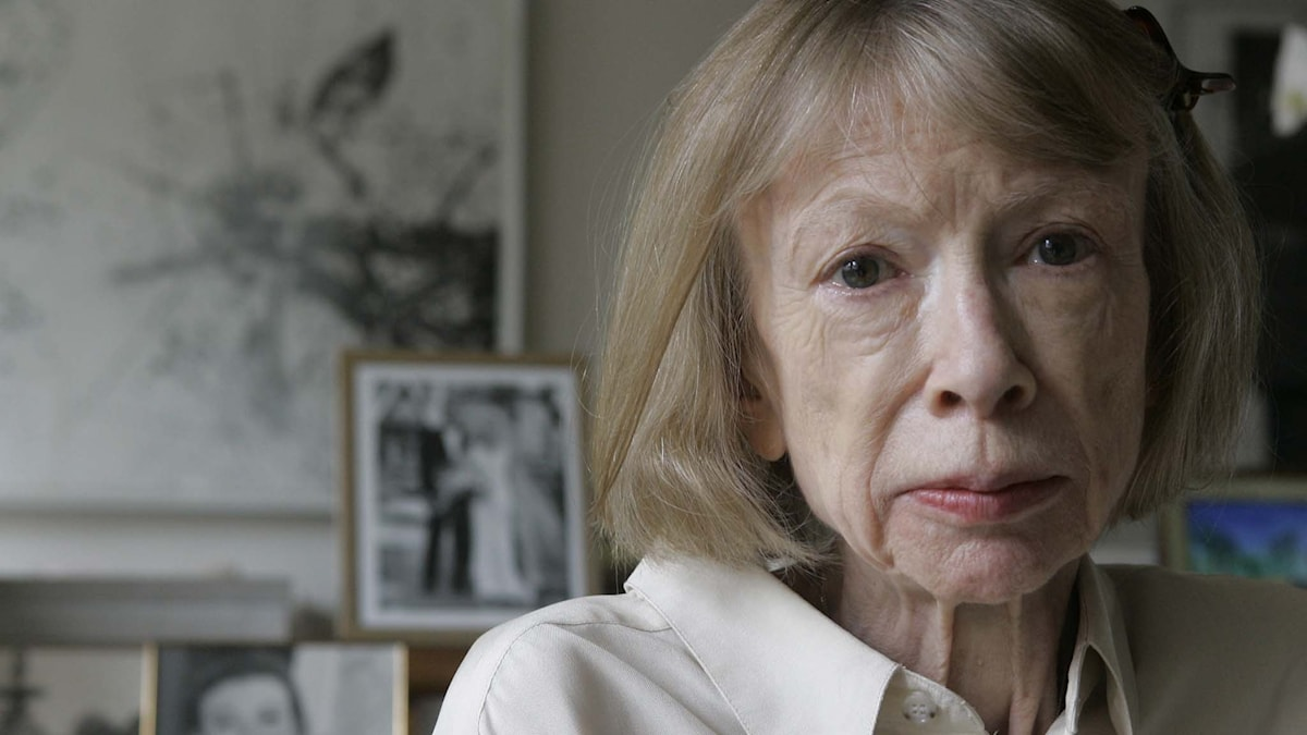Joan Didion. Foto: AP Photo/Kathy Willens