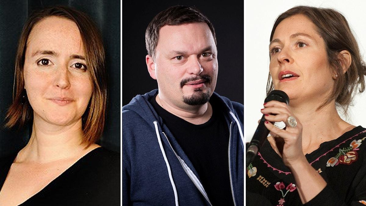 Johanna Koljonen, Roger Wilson och Andrea Östlund om framtidens tv i P1 Kultur.